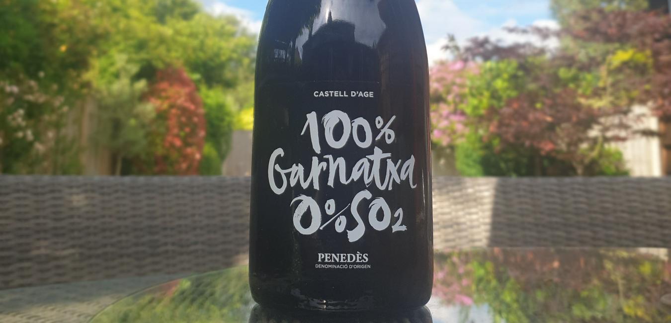Lady of the Grapes - Castell D'age, 100% Garnatxa 0% SO2
